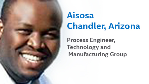 Meet Aisosa Chandler, Intel's Process Engineer in Arizona