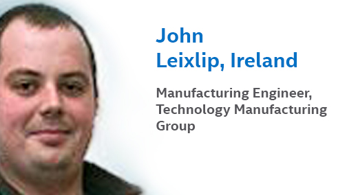 Meet John Leixlip, Intel's Manufacturing Engineer in Ireland