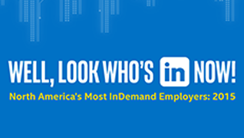 LinkedIn InDemand Employers Award 2015